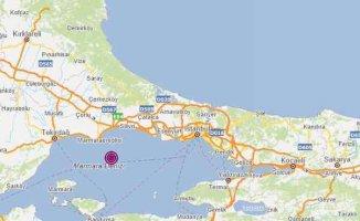 Marmara'da korkutan deprem, Marmara 4.2 ile sallandı