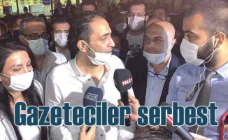MİT mensuplarının ifşa davası | Gazeteciler serbest
