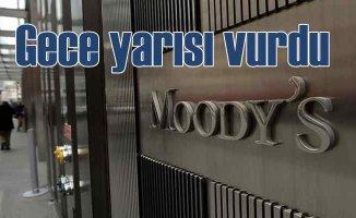 Moody's, Türkiye'nin notunu B2'ye düşürdü