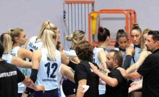 Sarıyer Belediyesi Kadın Voleybol takımına koronavirüs şoku