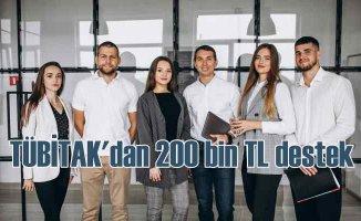 TÜBİTAK BİGG | Girişimcilere 200 bin TL hibe