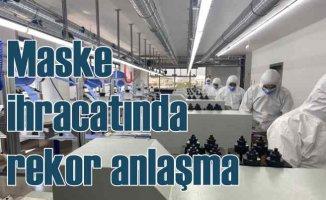 Türk şirket, maske ihracatında rekor kırıyor