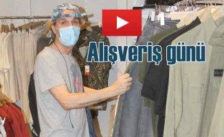 Youtebe kanalı kuran Soner Arıca alışverişe çıktı
