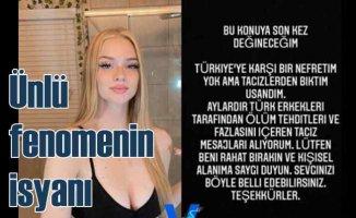Amerikanlı fenomenin 'Türk erkeği' isyanı