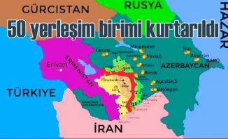 Azerbaycan'da son durum | 8 köy daha işgalden kurtarıldı