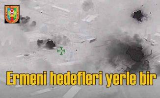 Azerbaycan Ordusu'ndan ağır darbe | Füzelerle yerle bir edildi