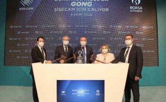 Borsa İstanbul'da Gong, ŞişeCam için çaldı