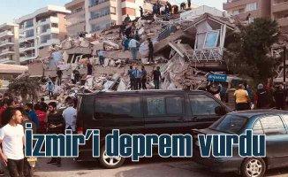 Ege'de deprem | İzmir'de çok sayıda bina çöktü | Enkaz altında kalanlar var