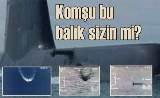 Görünmeyen Yunan denizaltılarının vesikalık fotoğrafları çekildi