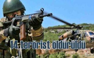 Hakkari'de operasyon, 8 terörist öldürüldü
