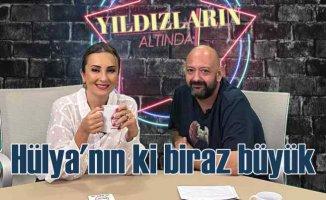 Hülya Avşar'ın poposu biraz büyüktür