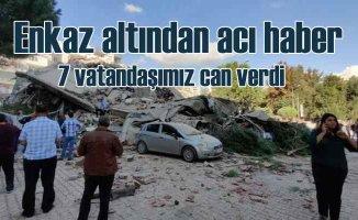 İzmir'de deprem, acı haber geldi, 7 can kaybı var