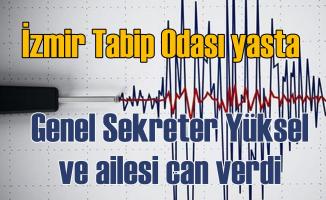İzmir Depremi | Tabib Odası Genel Sekreteri ve ailesi can verdi