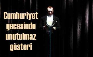Türkiye'nin ilk Atatürk hologramıyla Cumhuriyet kutlaması