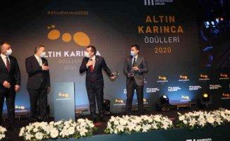 Altın Karınca Ödülleri'nin ikisi Zeytinburnu Belediyesi'ne