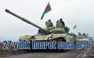 Azerbaycan Ordusu, 27 yıl sonra Kelbecer'de
