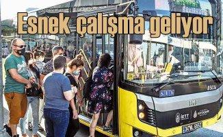 İstanbul'da mesailer yeniden değişti | Koronavirüs düzenlemesi