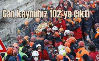 İzmir depremi | Can kaybı artıyor | 5 enkazda zamana karşı yarış