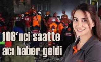 İzmir Depremi, Doktor Zarife Doğan'dan acı haber