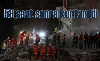 İzmir Depremi | İdil 58 saat sonra kurtarıldı