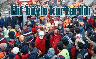 İzmir Depremi | Minik Elif'in mucize kurtuluşu