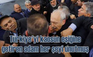 Kılıçdaroğlu'na yumrukla saldıran zanlı olayları unutmuş