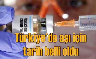 Koronavirüs aşısı | Türkiye'de aşı ne zaman başlayacak