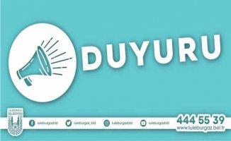 Lüleburgaz Belediyesi 58 personel alacak