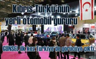 MÜSİAD EXPO 2020 | Kıbrıs Türk'ünün yerli otomobili Günsel'e yoğun ilgi