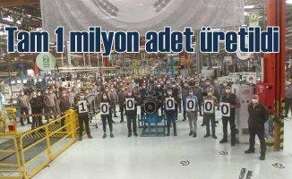 TürkTraktör 1 milyonuncu traktör gövdesini üretti