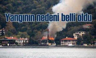 Vaniköy Camii yangını | Tarihi camiyi elektrik tesisatı yakmış