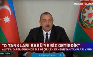 Aliyev | Ermenistan ordusunun yüzde 80'nini yok ettik