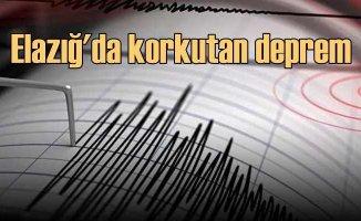Elazığ'da deprem, Doğu Anadolu'yu salladı