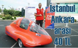Elektrikli arabayla İstanbul-Ankara 40 TL