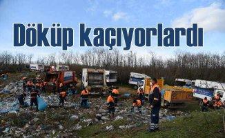 İBB'den kaçak çöp dökümüne anında müdahale