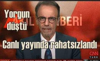 Prof.Dr. Mehmet Ceyhan hoca canlı yayında rahatsızlandı
