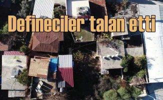 Tarsus'ta gizemli ev | Defineciler o evi talan etti