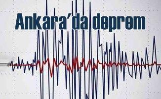 Ankara'da deprem oldu | Ankara 4.7 ile sallandı