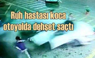 Çayırova'da lüks ciple dehşet saçan adam karısını öldürmek istemiş