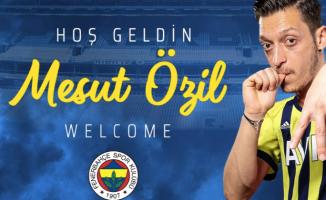 Fenerbahçe Mesut Özil transferini resmen açıkladı