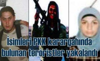 İstanbul'da yakalandılar | İsimleri terör örgütü karargahında bulunmuştu