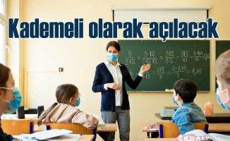 Okullar kademeli olarak açılacak | 15 Şubat'ta ilk zil çalacak