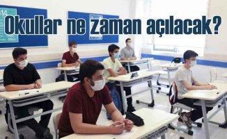 Okullar ne zaman açılacak | Bilim Kurulu tarih verdi