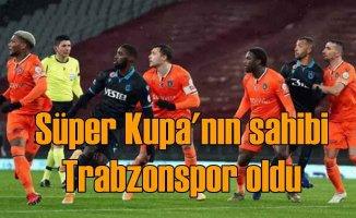 Trabzonspor Süper Kupa'yı 13+1 ile kaldırdı