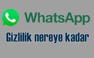 WhatsAapp gizlilik sözleşmesi veri gizliliğini sağlıyor mu?