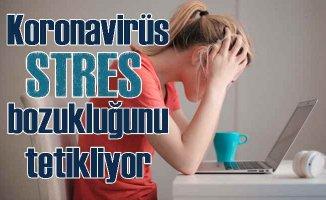 Koronavirüs stres bozukluğuna yol açıyor