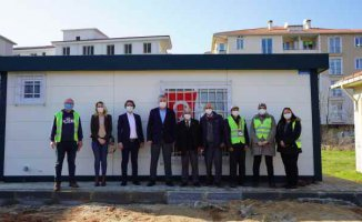 Lüleburgaz Belediyesi'nden muhtarlıklara yeni bina