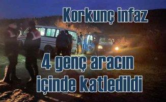 Manisa Ahmetli'de korkunç cinayet | 4 genç katledildi