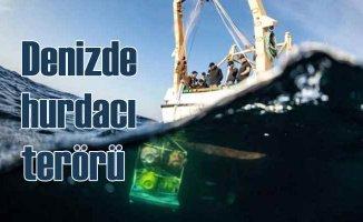 Marmara Denizi'nde deprem şamandıralarını çaldılar