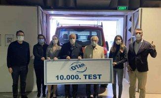 OTAM 10.000. Testi Elektrikli Araca Yaptı